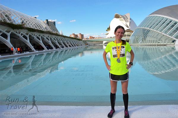 Первый марафон: Валенсия, Испания (ноябрь 2013)