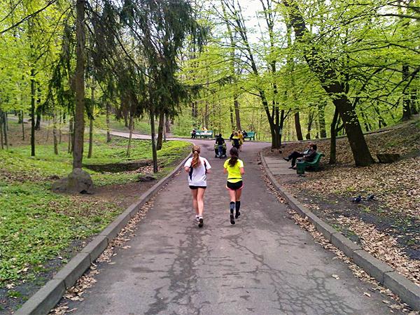 Дорожки Голосеевского парка. Фото: В.Сталинский