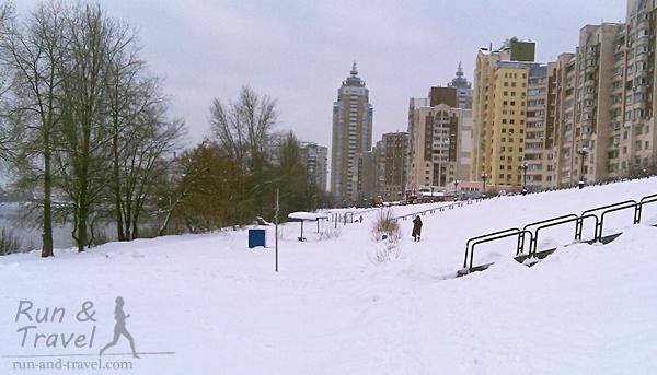 Нижний уровень рядом с пляжем