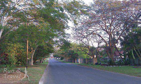 Улицы городка
