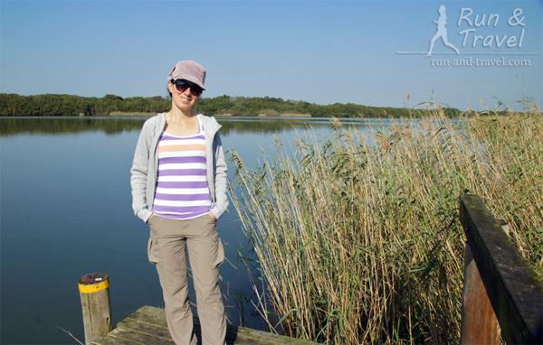 На вид озеро как озеро, под Киевом таких полно
