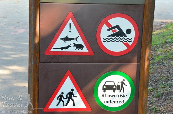 Особо одаренных предупреждают, что озеро не очень подходит для open water swim