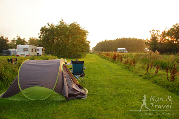 Эко-кемпинг недалеко от Дельфта, Нидерланды