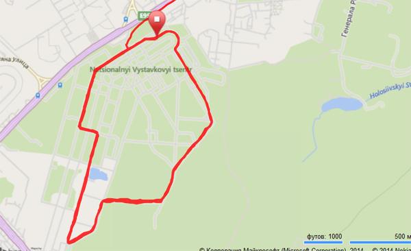 5-километровый круг по Экспоцентру