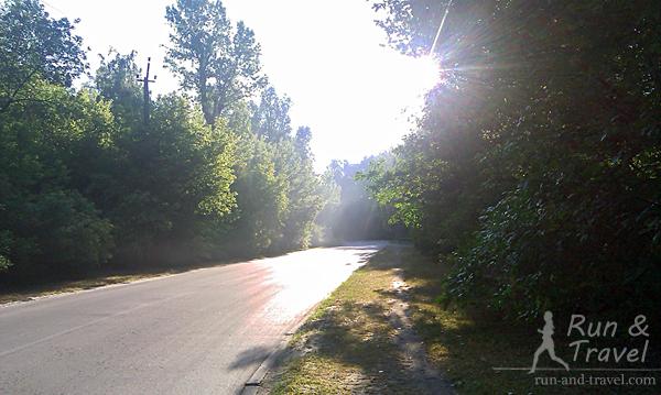Утро на Трухановом