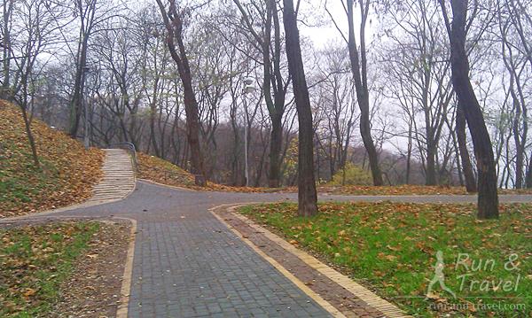 Парк ноябрьский