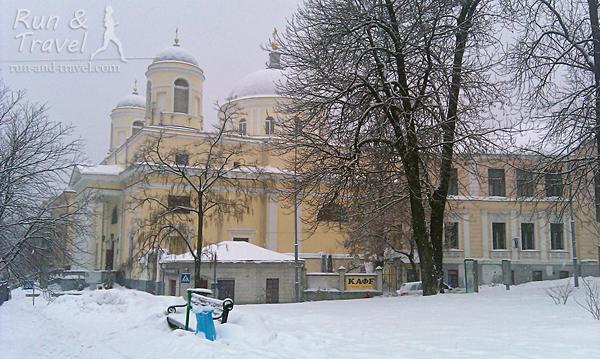 Церковь на улице Трехсвятительской