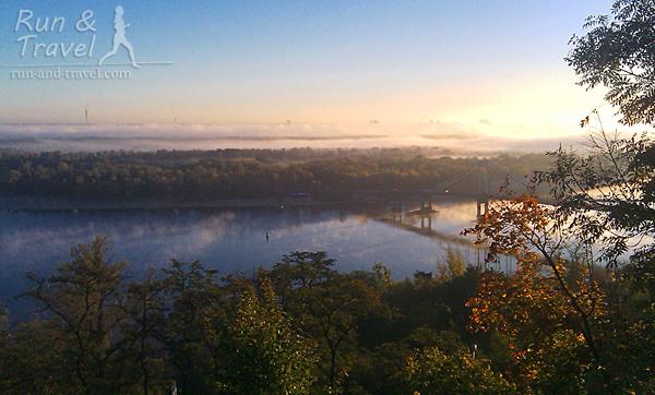 Осенний туман над левым берегом