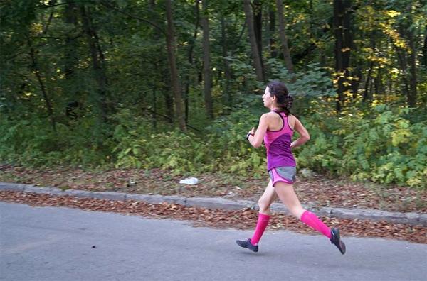 5к на тренировочном забеге Run for Fun на ВДНХ. Фото: А. Миклашевич