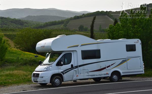 Путешествуем по Тоскане в гибриде грузовичка, автобуса и квартиры-гостинки