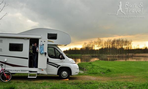 В любимом эко-кемпинге под Дельфтом, Нидерланды