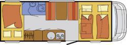Планировка нашего передвижного дома