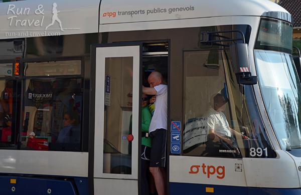 Запоминающаяся поездка в женевском трамвае