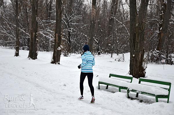 Бег зимой – это не страшно :)