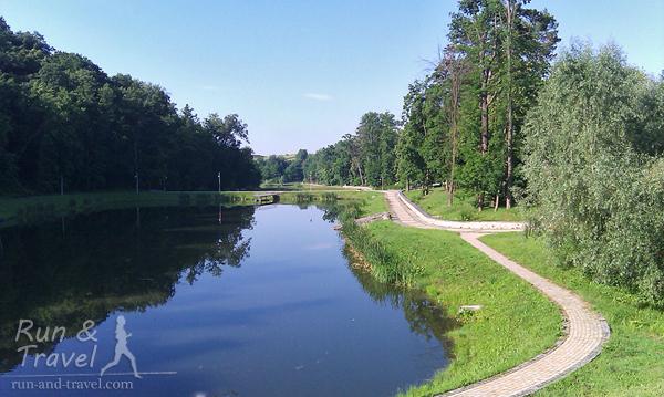 Дорожки вокруг прудов