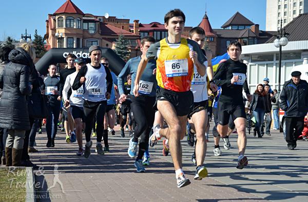 Мужчины стартуют на 10 км
