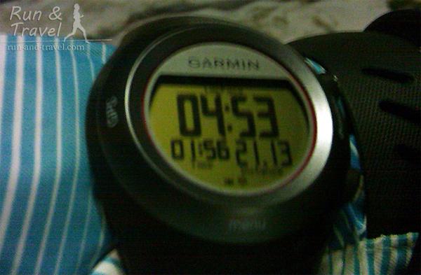 Тренировочный полумарафон из 2 часов