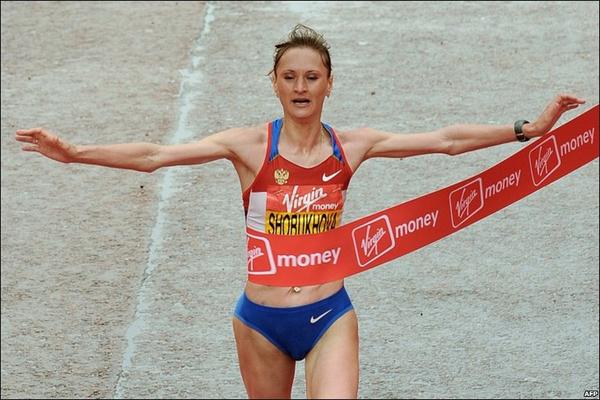 Лилия Шобухова, мировой рекорд №2 в марафоне