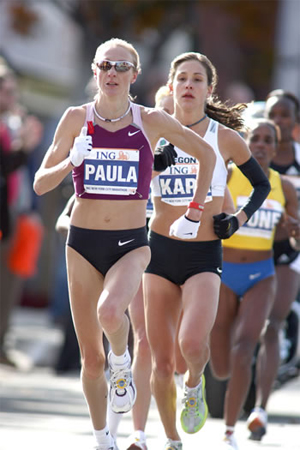 Пола Рэдклифф, мировой рекорд №1 в марафоне