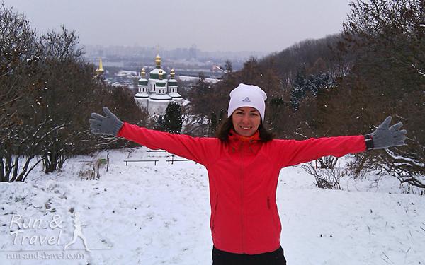 Где бегать в Киеве зимой?