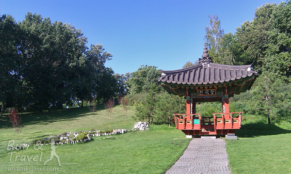 Традиционный корейский садик