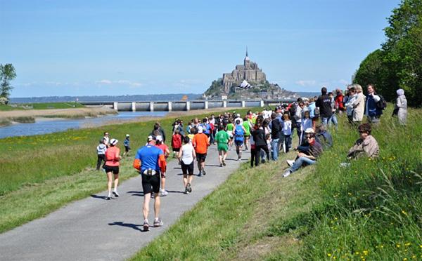 Финишная прямая марафона Мон Сен-Мишель