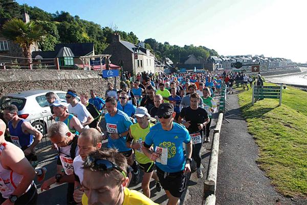 Первые километры марафона, подъем из Канкале. Фото: с официального сайта