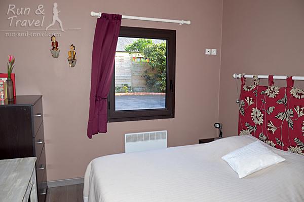 Спальни небольшие, но уютные