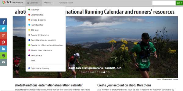 Календарь Ahotu Marathons