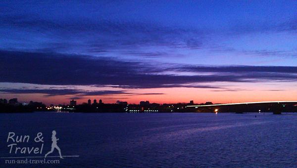 А еще утром бывают красивые рассветы