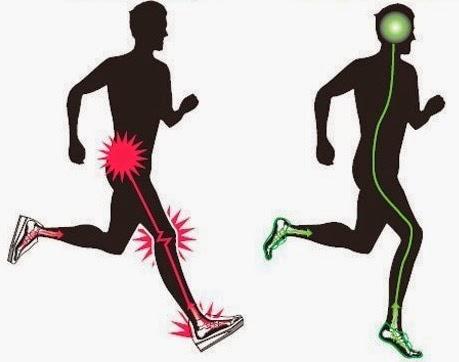 Бег в кроссовках vs. бег босиком