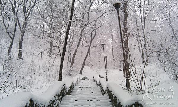 Лестница с Подола на Владимирскую горку