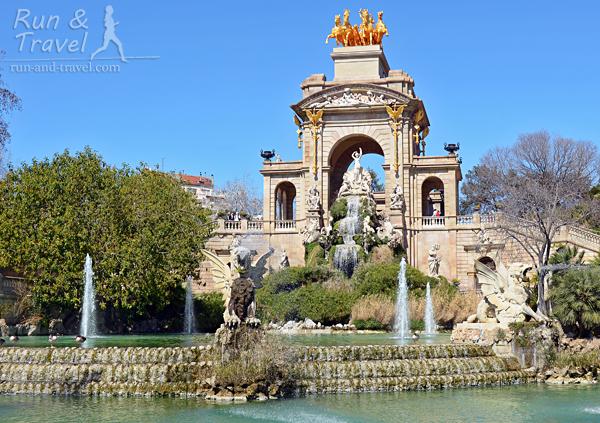 Барочный фонтан Каскад, созданный с участием Гауди