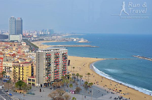 Пляжи Барселонетты