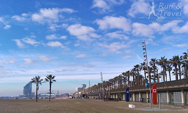 Променад возле Олимпийского порта