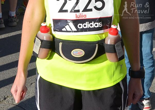 Fuel Belt, снаряженный на марафон