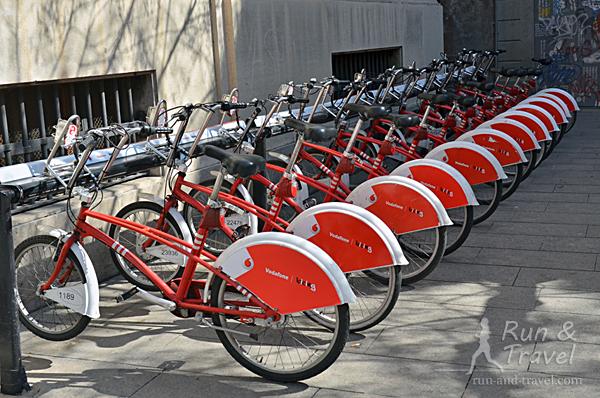 Система городских велосипедов Барселоны