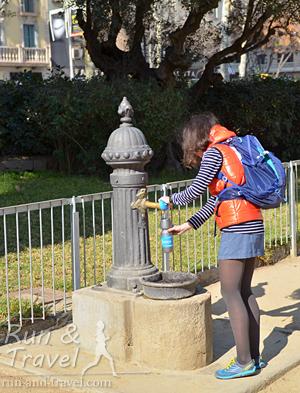 Питьевые фонтанчики повсюду