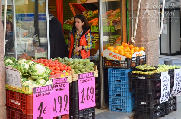 Овоще-фруктовый магазинчик