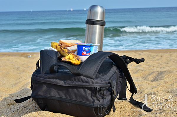 Пляжный перекус