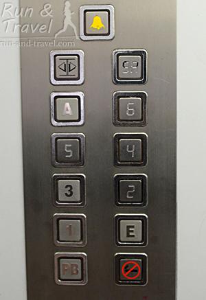 Кнопки в лифте выглядели вот так