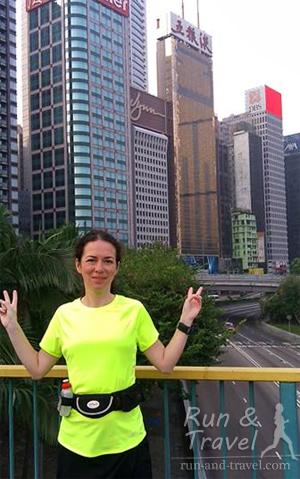 Раннее утро в Гонконге