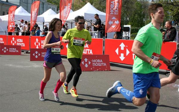 Последние метры и финиш. Фото: fitfix.com.ua