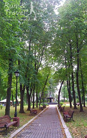 Аллеи Городского сада