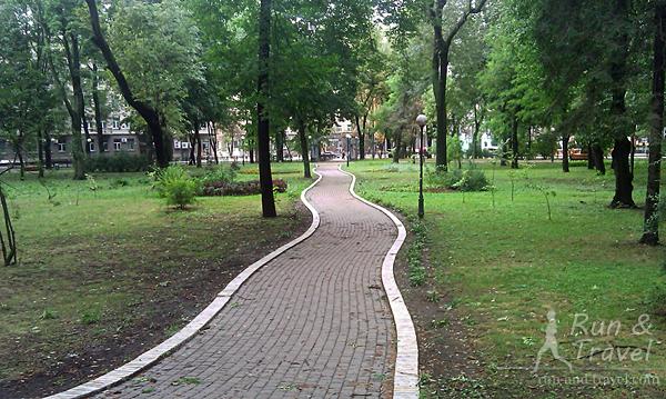 Дорожки парка