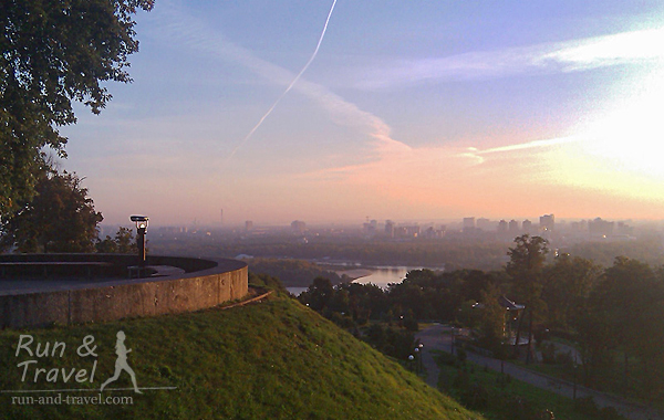 Рассвет в Парке Славы