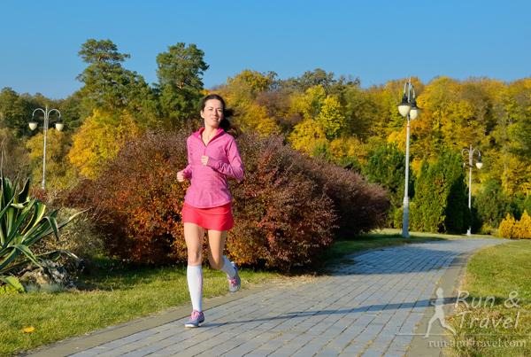 Легкие пробежки – отдых и личное время