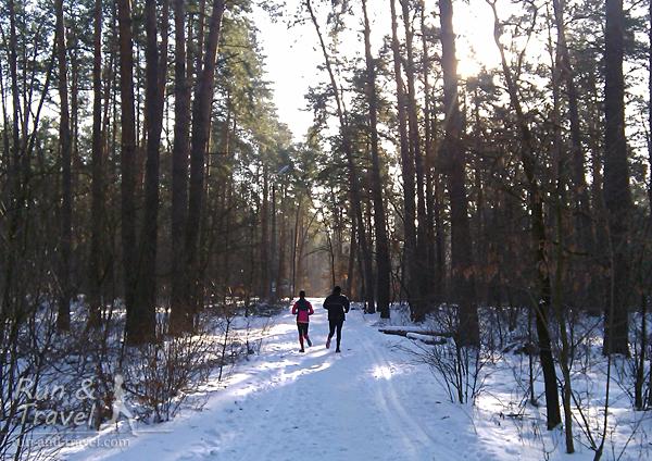Зимняя тропа здоровья в ППС