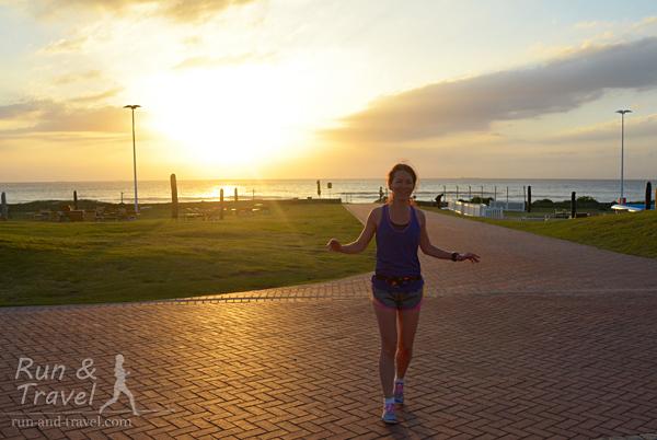 Пробежки с восходом солнца