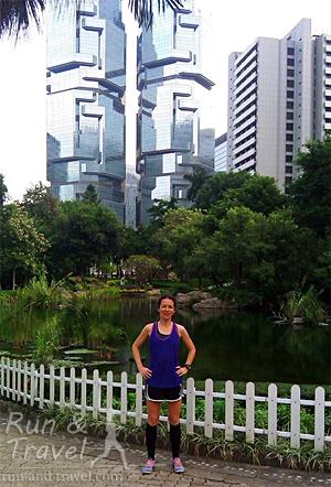 Первые пробежки в Гонконге, медленно и печально. Лучше стало только к концу второй недели